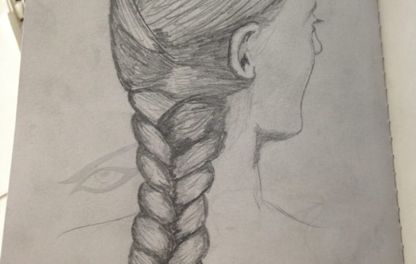 Female Hair Braid